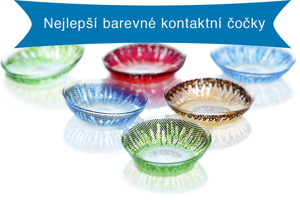 Nejlepší barevné kontaktní čočky
